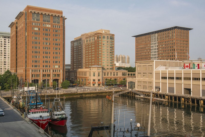 seaport boston hotel and world trade center