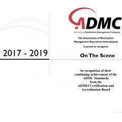 on the scene ADMC certification
