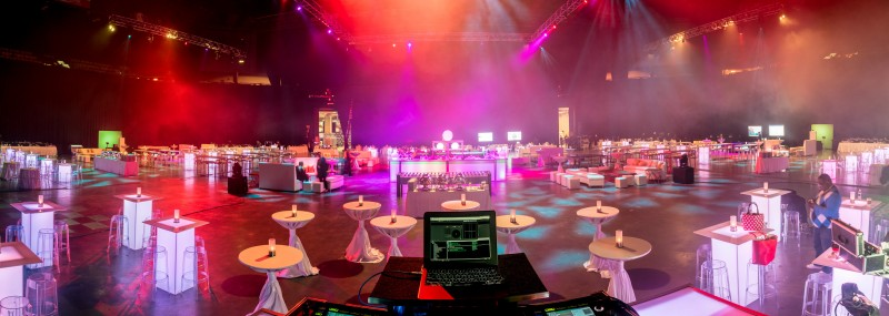 corporate welcome reception mgm grand garden arena las vegas