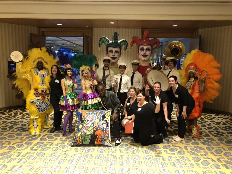 new orleans entertainers at corporate event