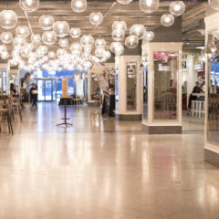 corporate event at revival food hall chicago