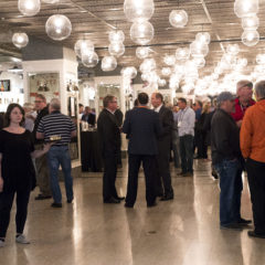corporate event at revival food hall